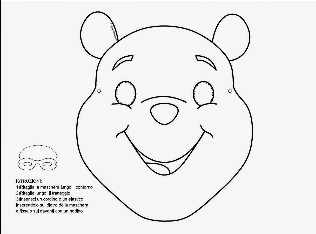 Cara Winnie Pooh para colorear - Imagui