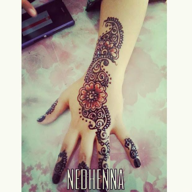 Inai Henna Simple Dan Cantik Vtwctr