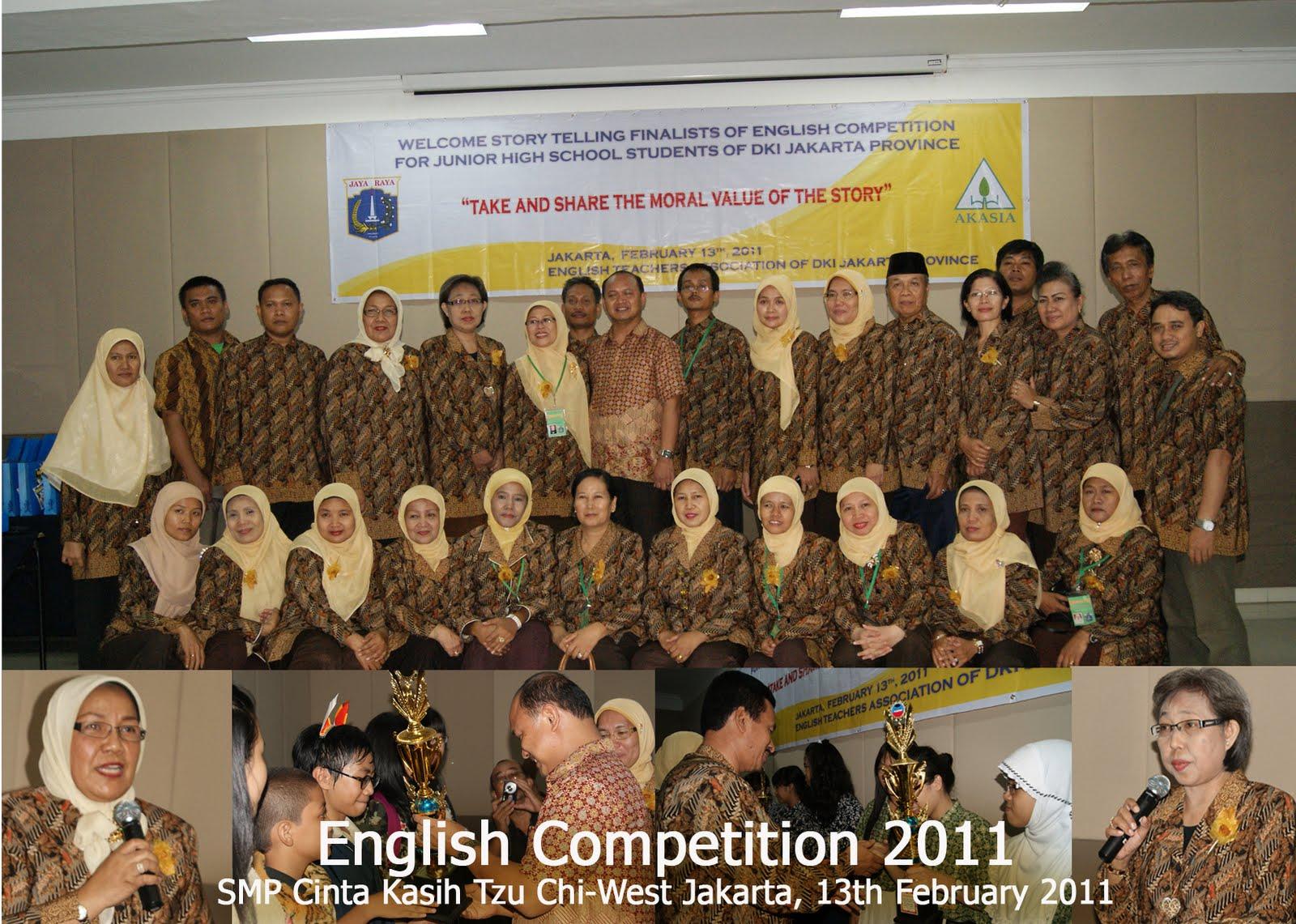 English Competition 2011, Si Perak yang Semakin Berkilau