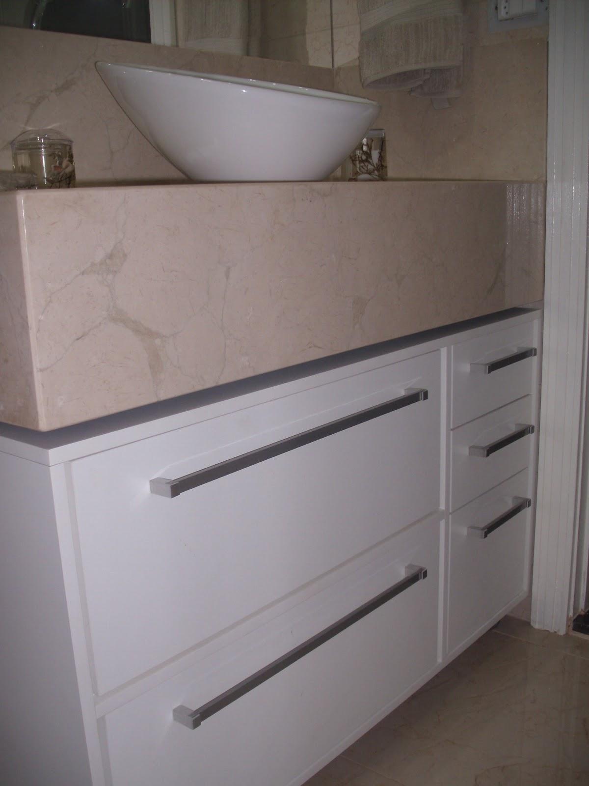 bancada em mármore crema marfil ficou com 1 00 x 0 50 m. #5B4E46 1200x1600