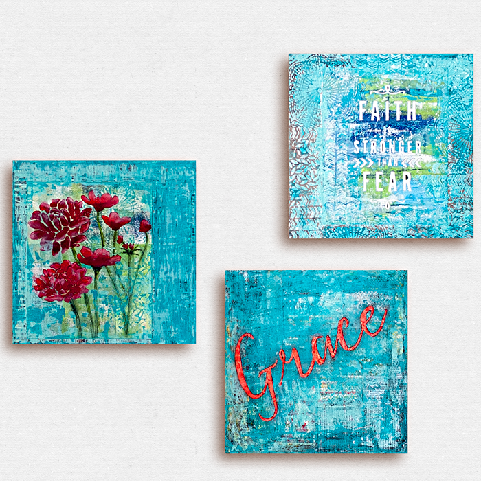 Heather Greenwood Designs | mixed media home decorating handmade wall art and related tutorials | #mixedmedia #homedecor #SilhouetteAmerica