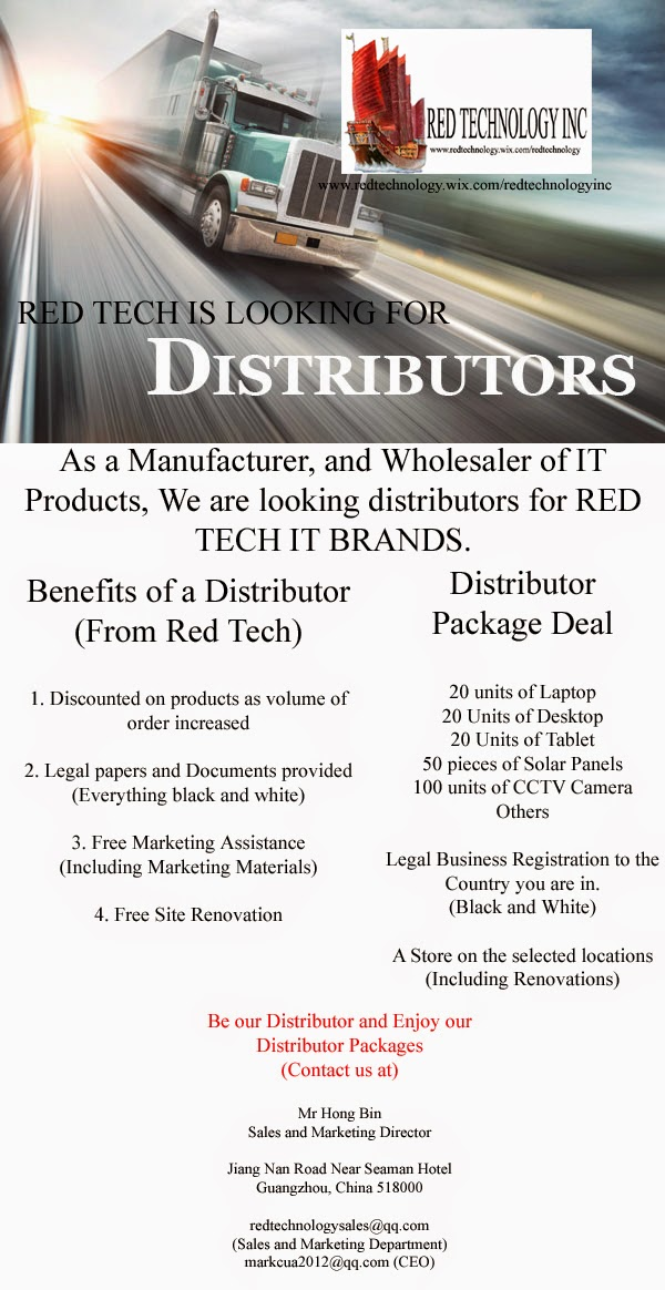 Red Tech is looking for Shareholders