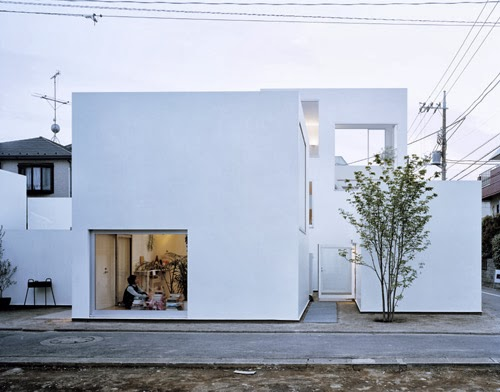 Case giapponesi contemporanee casa moriyama ryue for Case giapponesi