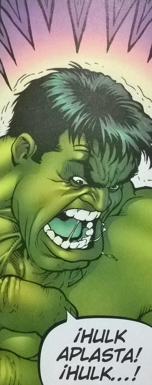 Hulk aplasta, Hulk machaca