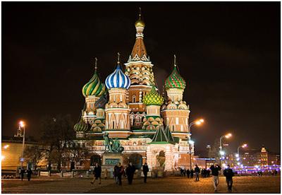 Moscow, Russian Federation | 7 Kota Paling Indah Dan Terang Di Dunia