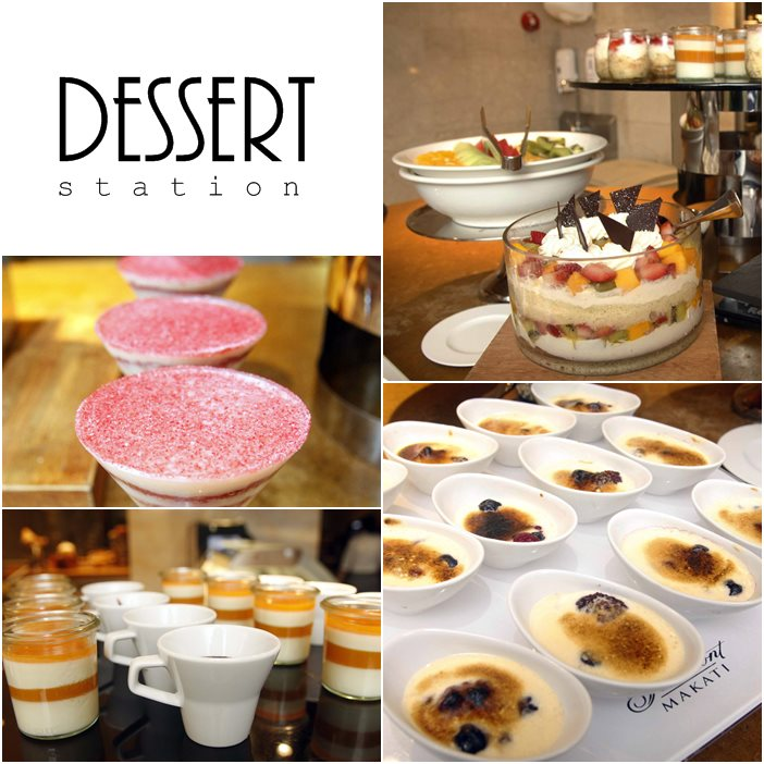 Dessert Spectrum at Fairmont and Raffles Hotel Makati's Buon Appetito Fridays