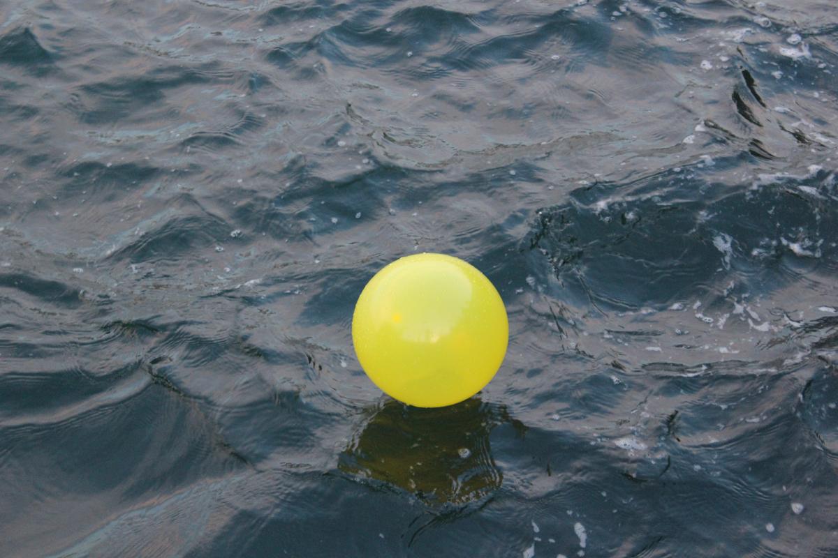 denizdeki balon