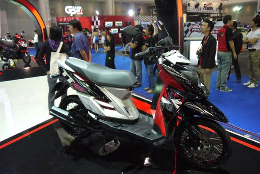 Modifikasi Motor Matic Yamaha X Ride