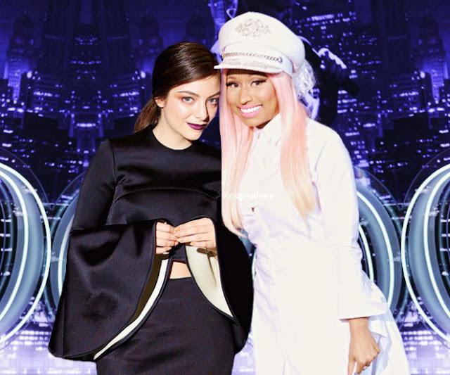 Lorde y Nicki Minaj podrían tener una colaboración secreta.