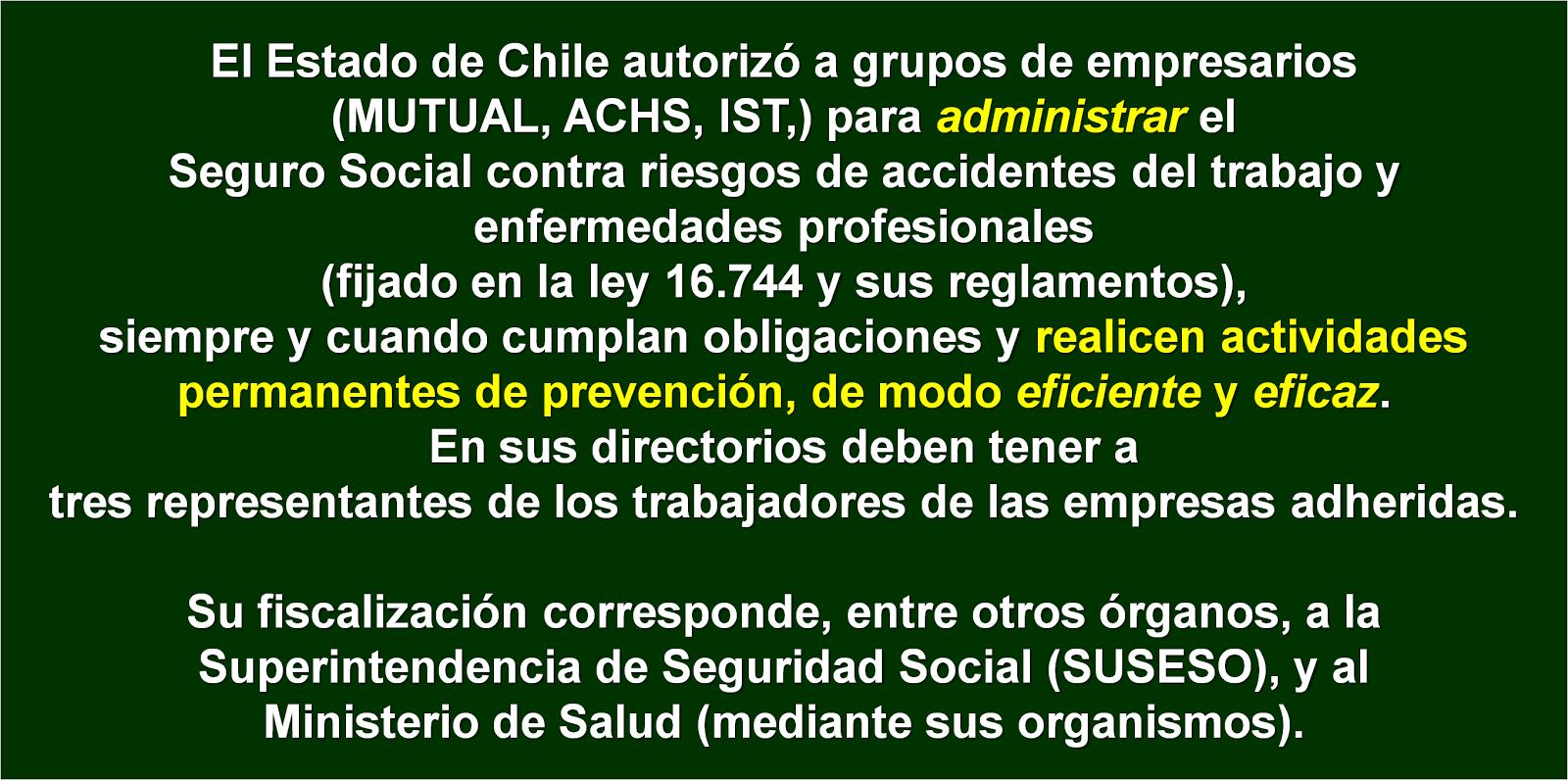Administradoras (Mutuales) autorizadas bajo condiciones.