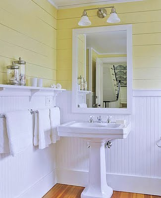 white yellow bathroom 2017 Grasscloth Wallpaper