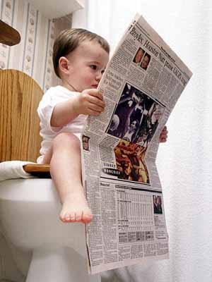 bayi-lucu-keren-baca-koran