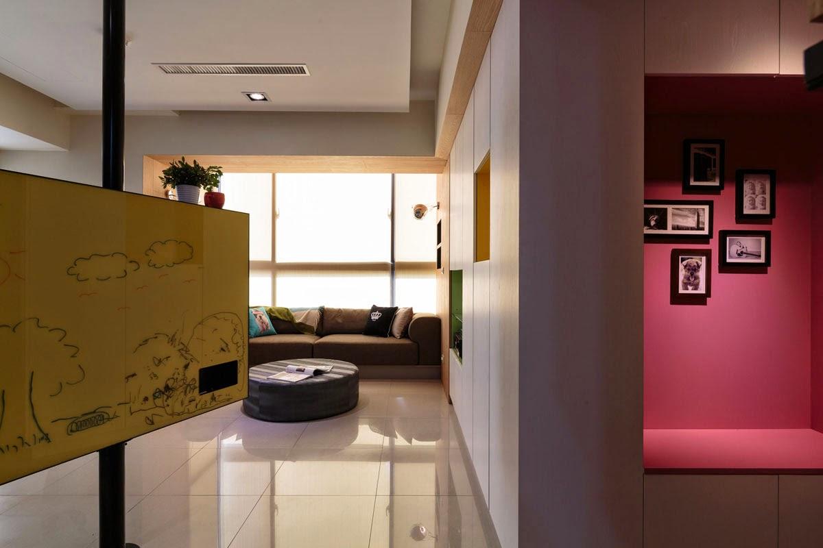 Suporte para televisão creativo para seu apartamento