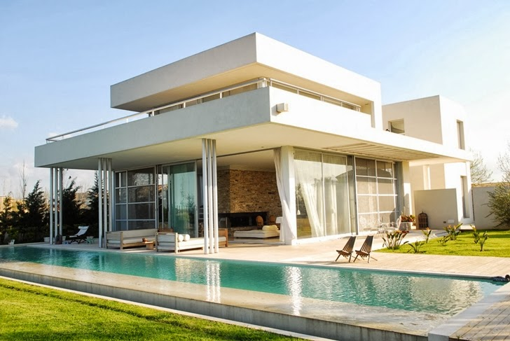 World Of Architecture Amazing Modern Agua House By