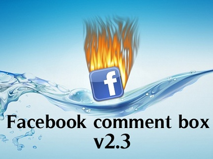 facebook comment box v2.3