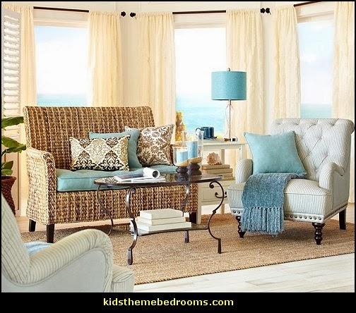 Beach Themed Bedrooms Home Design Ideas