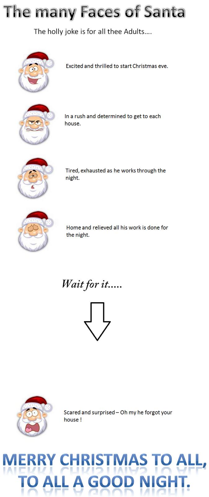 funny santa joke christmas