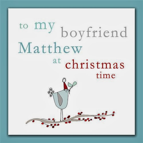 Lovely Christmas Cards For Boyfriends 2013