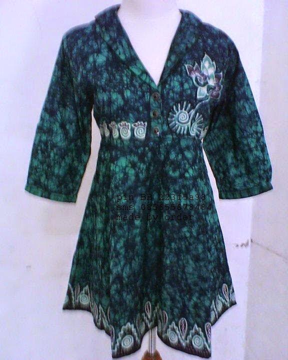 Model Baju Wanita Batik