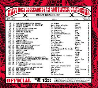 KHJ Boss 30 No. 128 - December 13, 1967