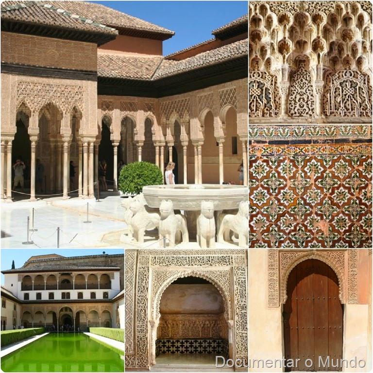 Como Organizar a Visita a Alhambra; Vestígios Muçulmanos em Espanha; Grandada; Andaluzia