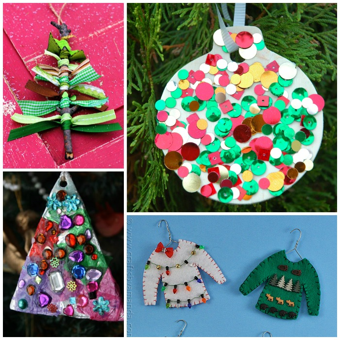 alphabet of christmas ornament crafts for preschool kids - Christmas Decoration Crafts