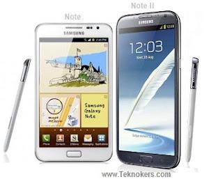 bagusan mana galaxy note N700 atau galaxy note 2 N7100, perbedaan samsung note 2 vs note, ponsel android layar gede