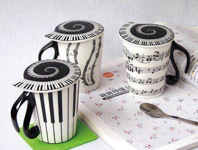 Cups for music lovers