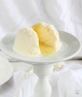 Tarta helada rellena de lima curd
