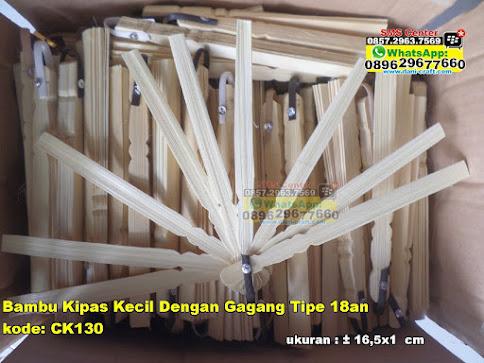 Bambu Kipas Kecil Dengan Gagang Tipe 18an jual