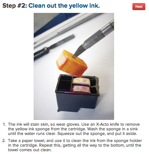 how to make your own invisible ink pen