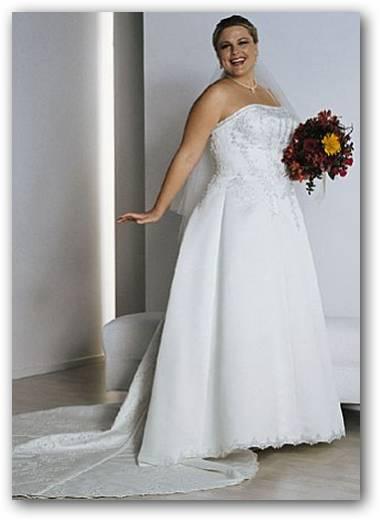 Vestidos de novia para gorditas con corset
