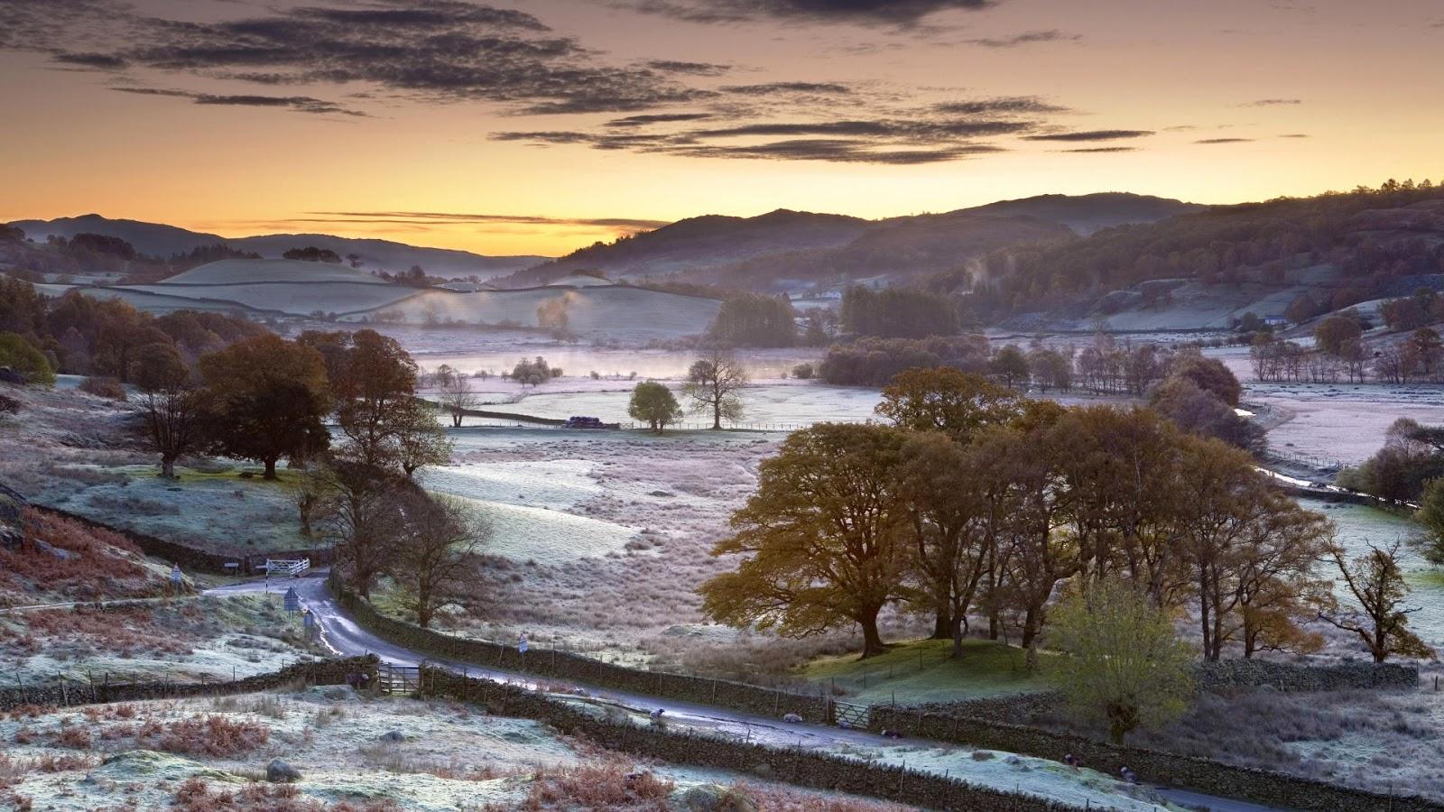 Central photoshop 75 paisagens deslumbrantes wallpapers for Fond ecran gratuit hiver