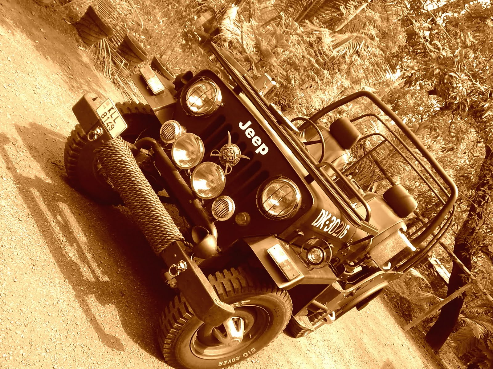 Mahindra Cj 500d My Modified Jeep Eagerly Waiting For