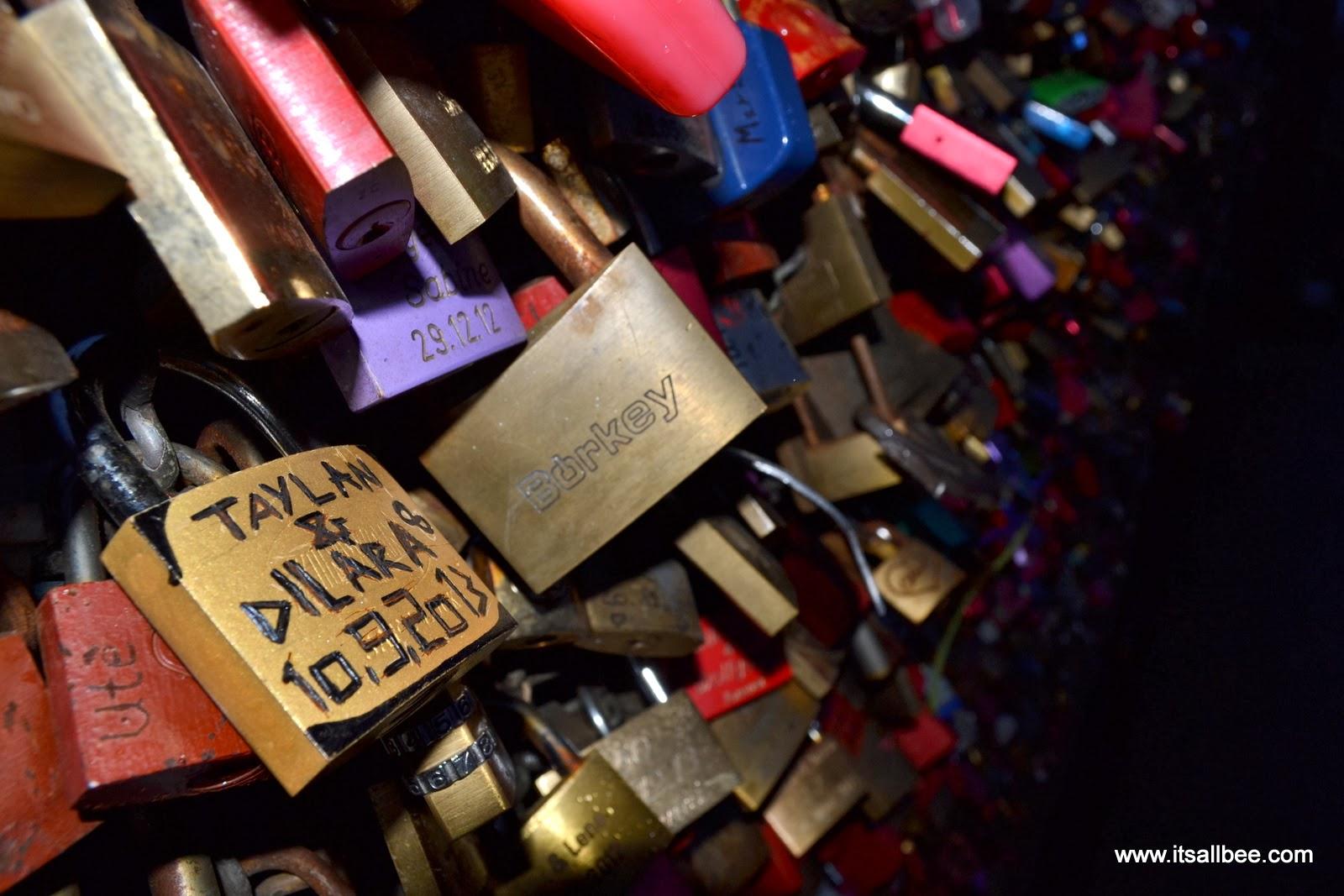 Cologne's Love Locks Bridge | Love Locks On Hohenzollern Bridge In Cologne Germany