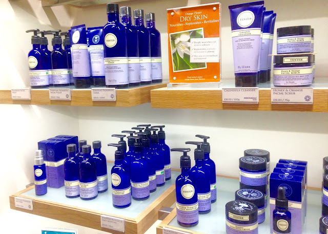 neals yard remedies blogger event organic skincare beauty ranges