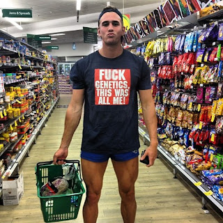 why do the guys in my supermarket never look like this?