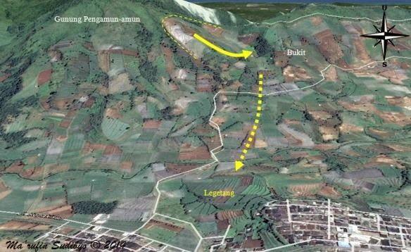 peta lagetan kampung