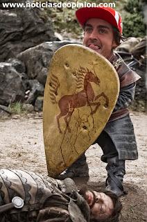 Fernando Alonso con cara de felicidad y alegría. Lo retocaremos con Photoshop.