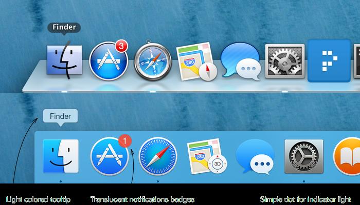 OS X Yosemite versus OS X Mavericks