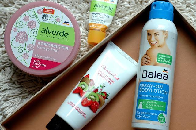 Aufgebebraucht September - Alverde Körperbutter und Balea Spray-On Bodylotion