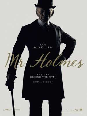 Poster Mr. Holmes 2015