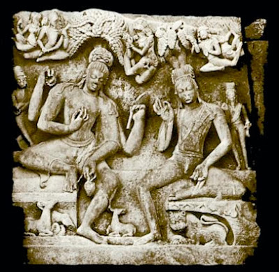 Nara and Narayana from a sculpture at Deogarh, Uttar Pradesh c. 5 Century [http://commons.wikimedia.org/wiki/File:Nara_narayana.jpg] Under Creative Commons Attribution at Wikipedia