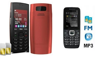 Get Dual SIM Mobile with Camera & FM for Rs.874 and Rs.779 Only