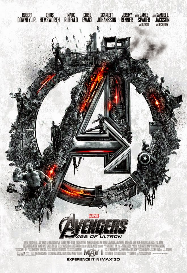 Marvel's Avengers Age of Ultron IMAX Opening Night Theatrical One Sheet Movie Poster