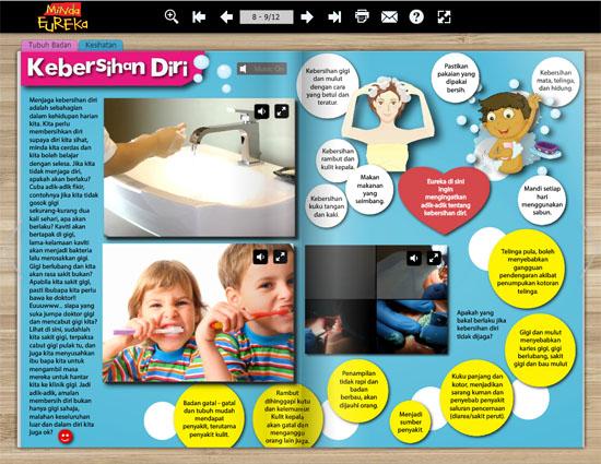 Pratonton percuma majalah digital untuk pelajar kssr