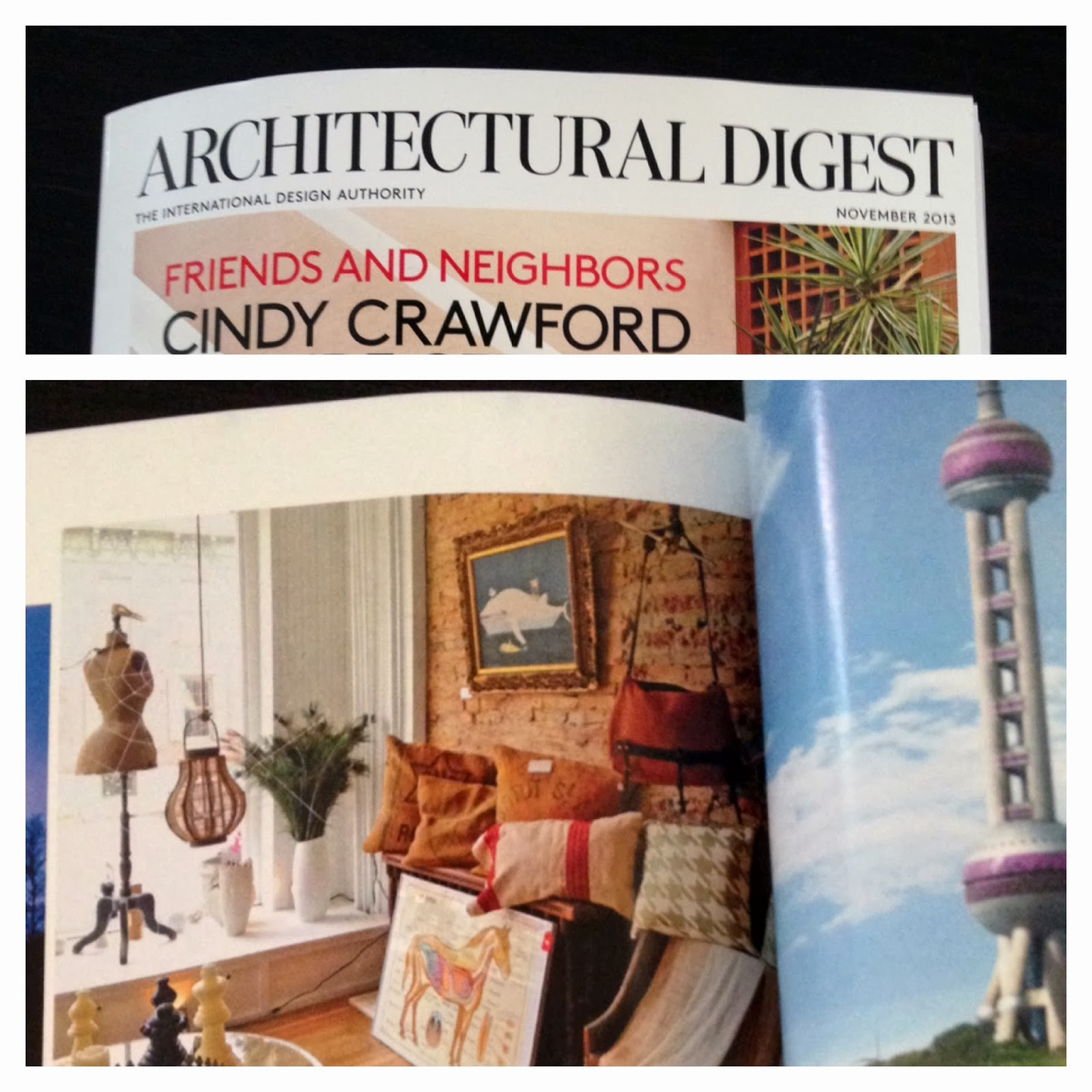 Architectural Digest Magazine 2013 - Viewing Gallery