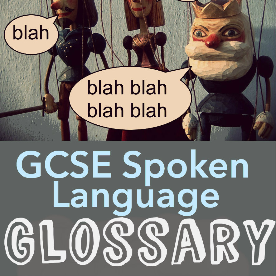 spoken language coursework gcse