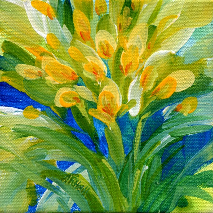 Crocus, by Annette Ragone Hall