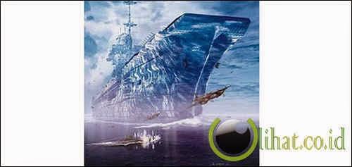Kapal Induk dari Gunung Es